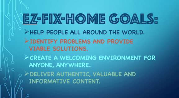 Ez-Fix-Home Goals